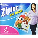 Ziploc XL Big Bags (4 Bags Per Pack)