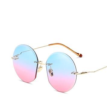 Sunglasses Home Gafas de Sol para Hombre Mujeres Sin Marco ...