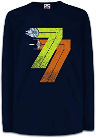Urban Backwoods Vintage Rebel Born 77 Uomo T-Shirt