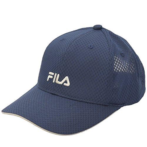 フィラ(FILA) ロゴ 刺繍 メッシュ キャップ 帽子 スポーツ ゴルフ テニス ランニング メンズ レディース flk-100713403