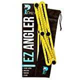 EZ-Angler Measuring & Template Tool | Perfect for Difficult Angles | Saves Time, Helps Eliminate Mistakes | For Hanging Tile, Laying Floors, Cutting Stone & More with Storage Bag by Pez Products