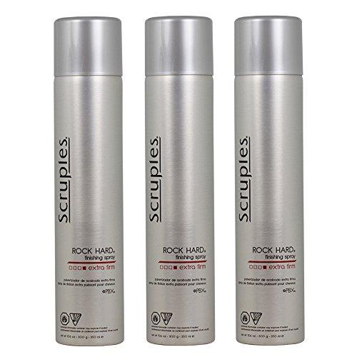 Scruples Rock Hard Finishing Spray Extra Firm 350 ml / 10.6 oz Pack of 3