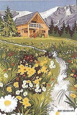 Needlepoint Canvas Gobelin Tapestry SEG Paris Petit Torrent 12 X 16 928.337