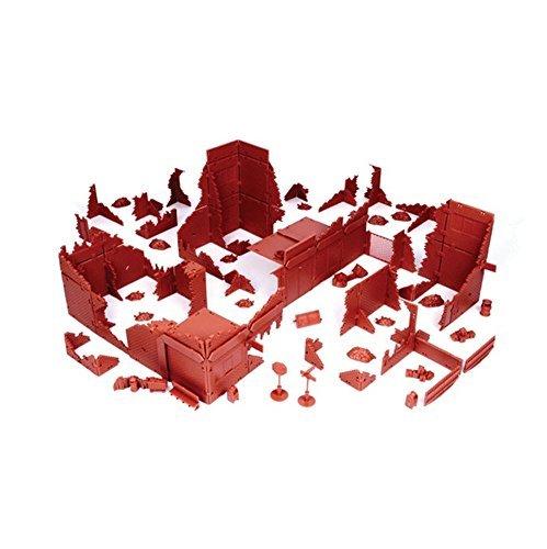 Battle Zones: 20th Centery Brick Scenery Ruined City