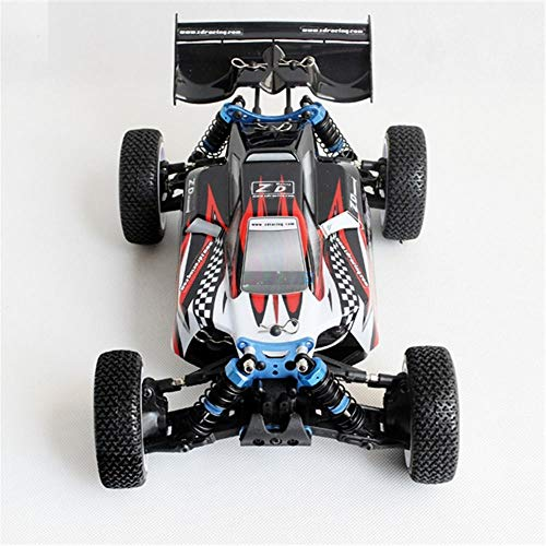 K&A Company ZD Racing Raptors BX-16 9051 1/16 2.4G 4WD 55km/h Brushless Racing Rc Car Off-Road Buggy RTR Toys, Red