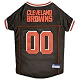 Pets First NFL CLEVELAND BROWNS DOG Jersey, X-Large For Sale
