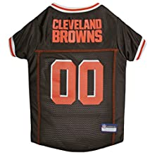 NFL CLEVELAND BROWNS DOG Jersey, Large