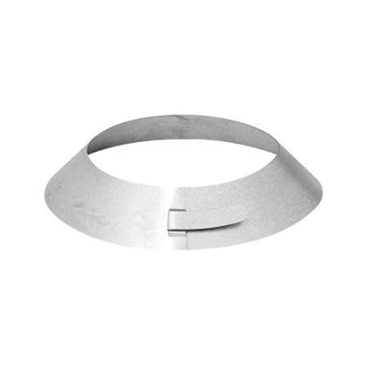 Rheem RTG20151M-1  Galvanized Steel Storm Collar with Spit Ring for Rheem Tankless Gas Water Heaters Venting, 5-Inch