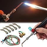 Jewelers Jewelry Mini Micro Gas Torch Welding Soldering Cutting Tools w/ 5 Tips