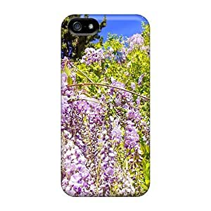 (kFJWpLP8213pRPFJ)durable Protection Case Cover For Iphone 5/5s(purple Drapes)