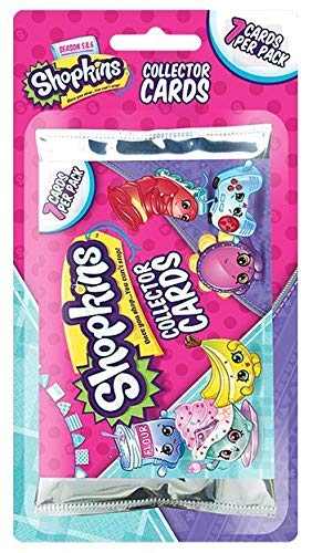 - Shopkins Collector Trading Card Packs [3 Packs]