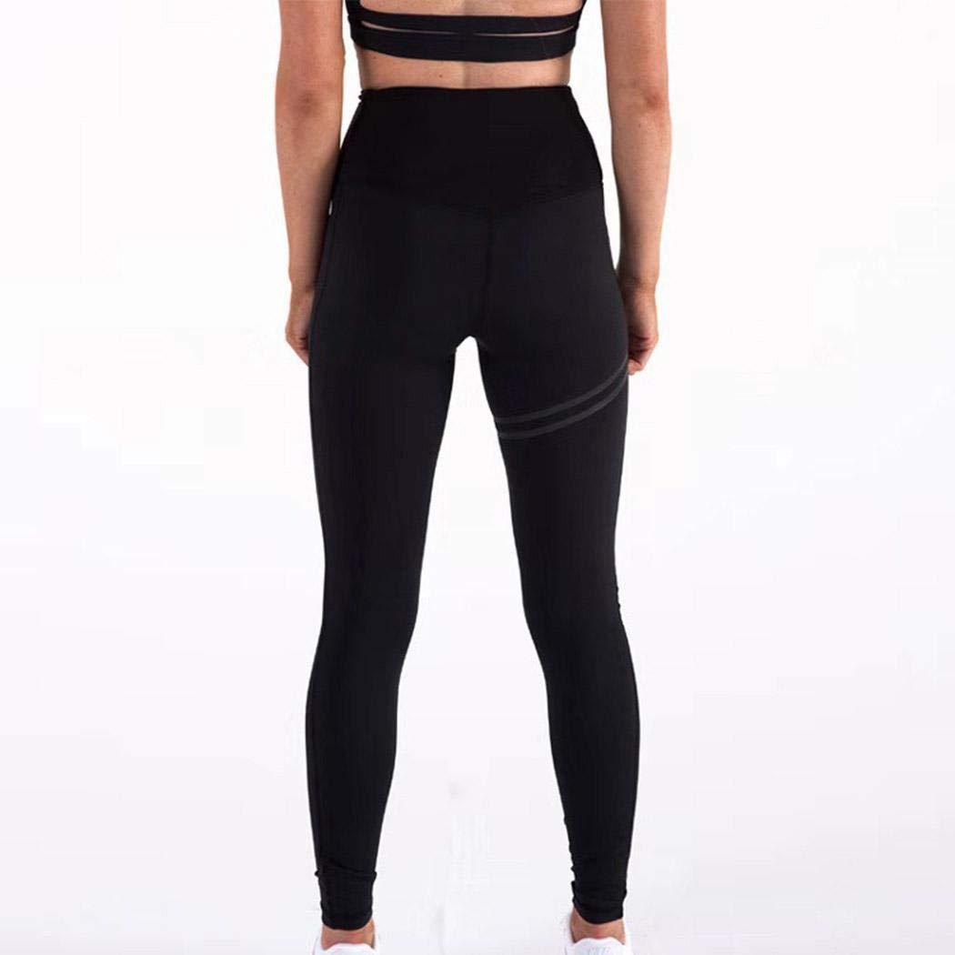 LIOPIO Donne Yoga Fitness Corsa Pantaloni Palestra Stretch Sport dei Pantaloni delle Ghette Pantaloni Sportivi