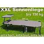 WildStage-Lettino-prendisole-XXL-pieghevole-con-tetto-fino-a-150-kg-sdraio-pieghevole-in-5-posizioni-sdraio-da-giardino-extra-alto-con-tettuccio-parasole-200-x-70-x-45-cm-beige