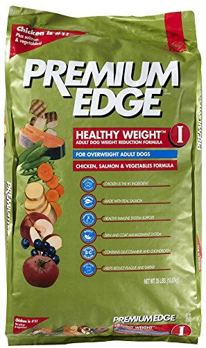 Premium Edge Healthy Weight I Weight Reduction Formula Adult Dry Dog Food, 35-Pound
