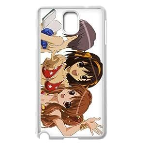 haruhi suzumiya and mikuru asahina Samsung Galaxy Note 3 Cell Phone Case White xlb2-044402
