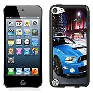 New Personalized Custom Designed For iPod Touch 5th Phone Case For 2014 Ford Shelby GT500 Blue Phone Case Cover Kimberly Kurzendoerfer