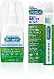 Benadryl Extra Strength Cooling Anti-Itch Spray 2 fl. Oz and Benadryl Extra Strength Itch Relief Stick 0.47 fl. oz, Both with Diphenhydramine 1 ea