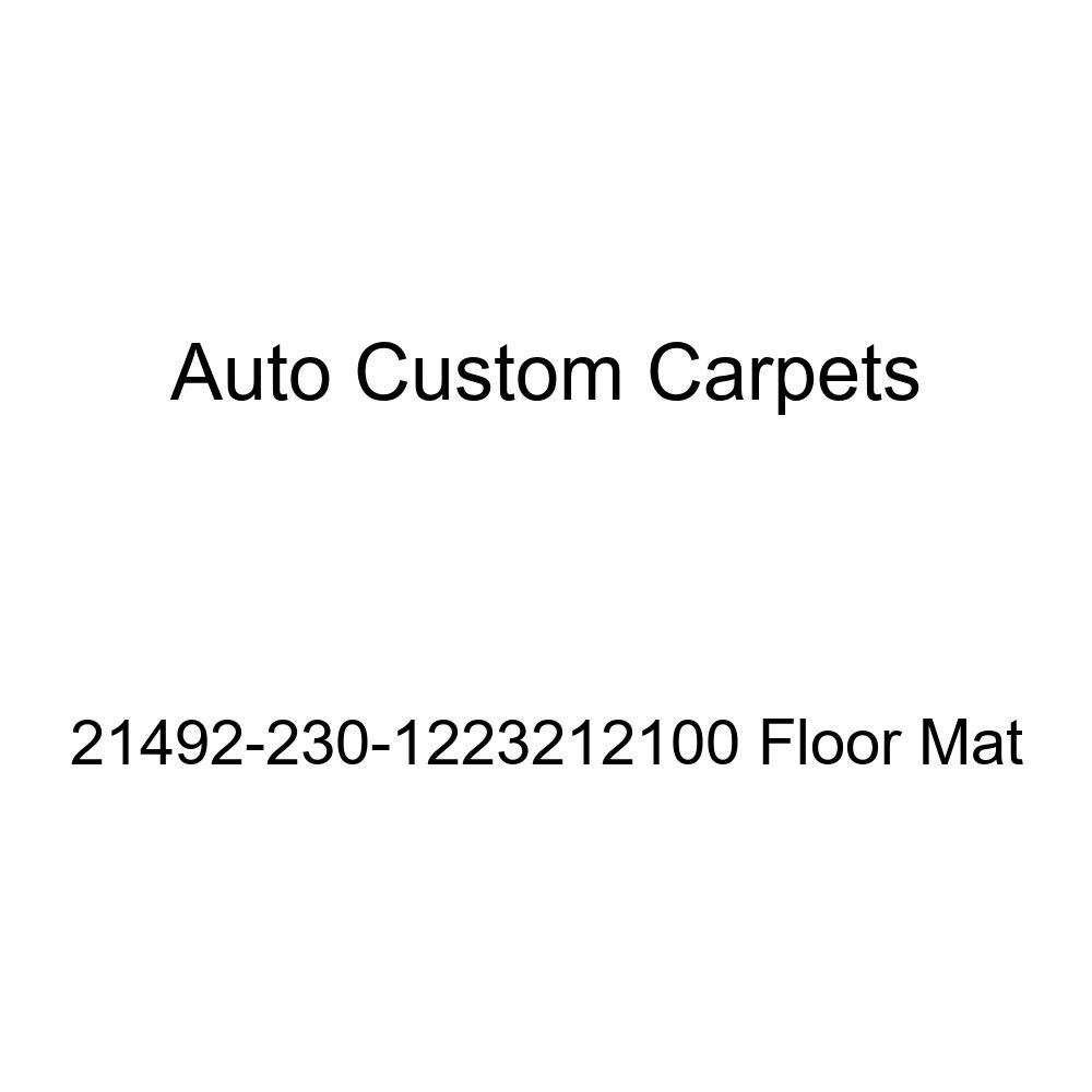 Auto Custom Carpets 21492-230-1223212100 Floor Mat