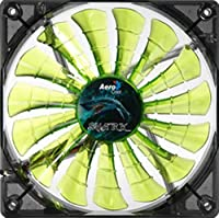 AeroCool Shark 120mm Green Cooling Fan EN55697
