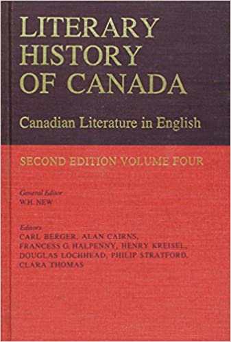 A History of Canadian Literature