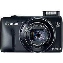 Canon PowerShot SX600 HS 16MP 18X Optical Zoom Digital Camera - Black