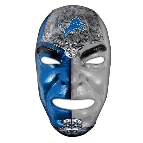 NFL Detroit Lions Team Fan Face Mask