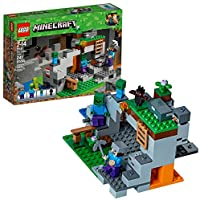 LEGO Minecraft The Zombie Cave 21141 Building Kit (241...