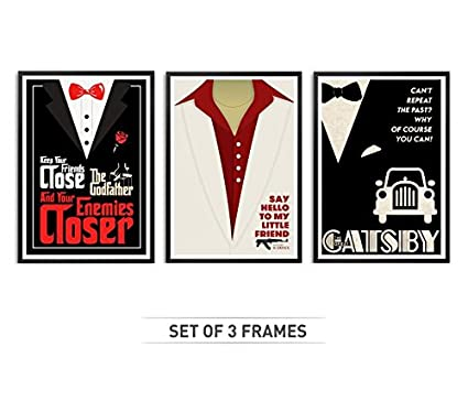 Lab No. 4 Set Of Three \'\'The Godfather\