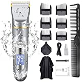 Best Hair Clippers - GOOLEEN Hair Clippers for Men Cordless Hair Clippers Review
