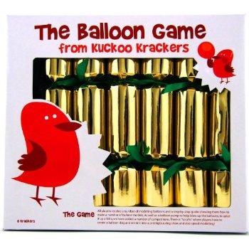 6 x 12 Balloon Game Christmas Crackers