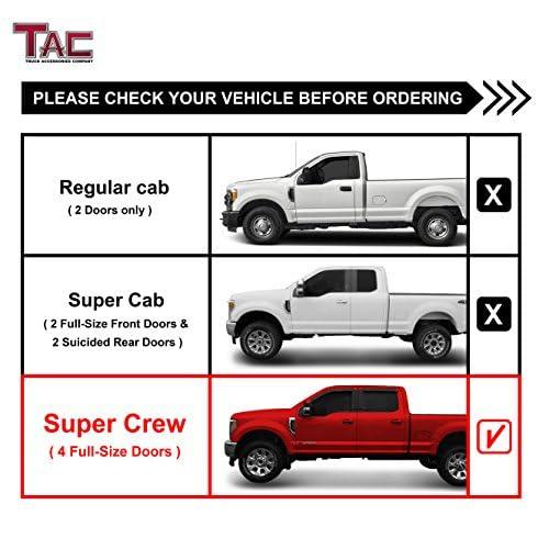 Tac Side Steps For   Ford F Supercrew Cab   Ford