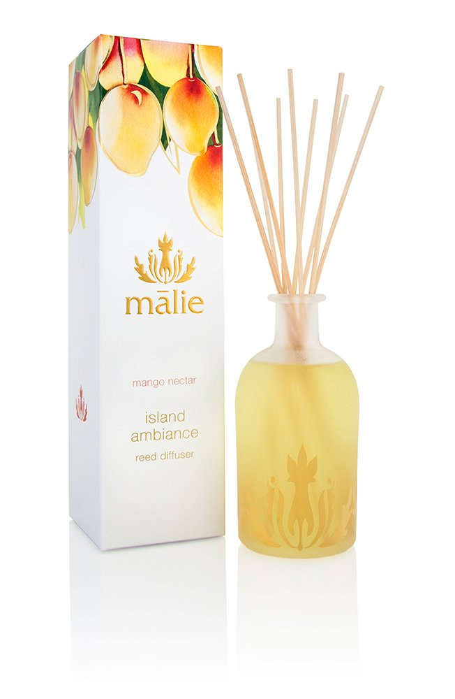 Malie Island Ambiance Reed Diffuser - Mango Nectar by Malie (Image #1)