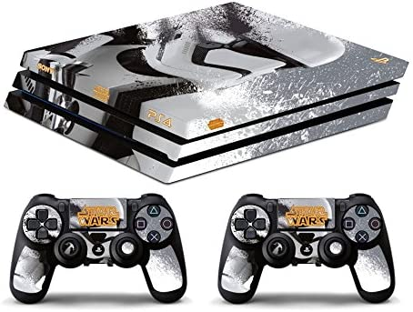 Skin PS4 PRO HD - GUERRA DE LAS GALAXIAS - limited edition DECAL ...