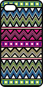 Aztec Pattern #5 Tinted Rubber Case for Apple iPhone 5 or iPhone 5s