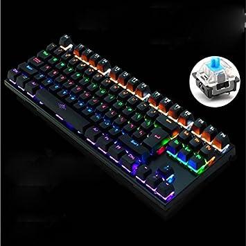 Teclado 87 Key Mechanical Keyboard Real Mechanical Keyboard ...