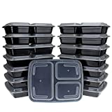 Freshware-150-Pack-3-Compartment-Bento-Lunch-Boxes-with-Lids-Stackable-Reusable-Microwave-Dishwasher-Freezer-Safe-Meal-Prep-Portion-Control-21-Day-Fix-Food-Storage-Containers-32oz