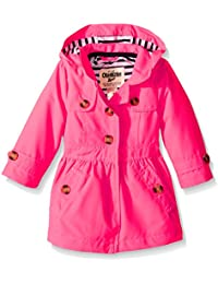 Osh Kosh Baby Girls' Lined Trench Coat