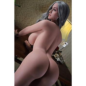 Amazon.com: Muñeca sexual inflable sin costuras, seno grande ...