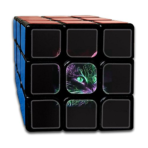 AVABAODAN Blink Cat Rubik's Cube Original 3x3x3 Magic Square Puzzles Game Portable Toys-Anti Stress For Anti-anxiety Adults Kids by AVABAODAN