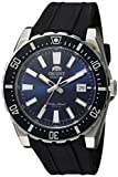 Orient Men's 'Nami' Japanese Automatic Stainless Steel and Rubber Diving Watch, Color:Black (Model: FAC09004D0)