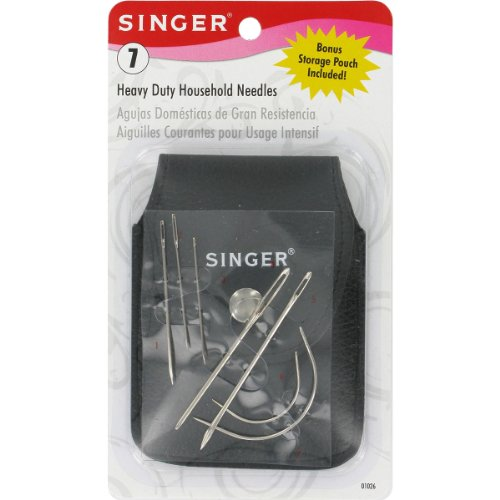 Singer Heavy Duty Hand Needles with Storage - Singer Leather Sewing Machine