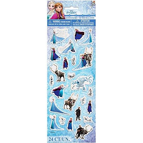 Disney Frozen Puffy Sticker Sheet