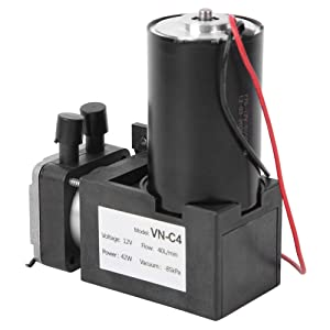 Negative Pressure Pump Stable Structure Vacuum Pump Industrial Parts Small Suction Pump Mute Brushless Pump for Vacuum Packaging