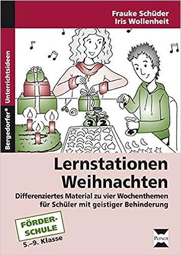 Lernstationen: Weihnachten: Differenziertes Material zu vier ...