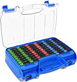 The Battery Organizer Storage Case with Hinged