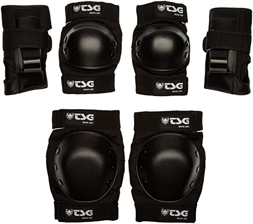 (TSG - Basic-Set - Pads for Skateboard (Black, S))