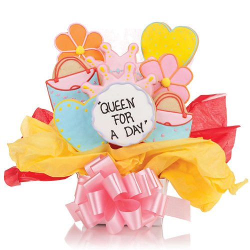 Queen for the day Cookie Bouquet- 9 Pc Bouquet