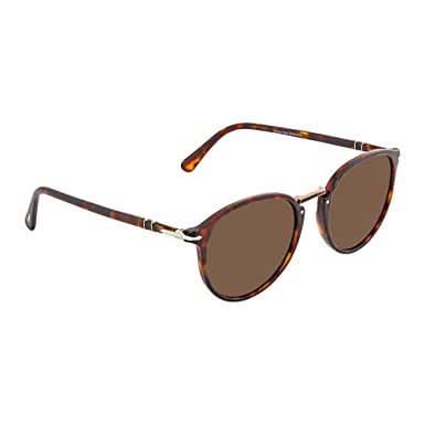 ff0245c49f387 Persol Mens Men s Oval 54Mm Sunglasses at Amazon Men s Clothing store