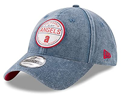 "California Angels New Era MLB 9Twenty ""Cooperstown Retro Patch"" Adjustable Hat from New Era"