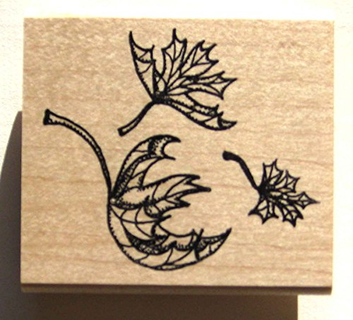 Autumn Leaves Rubber Stamps - 4